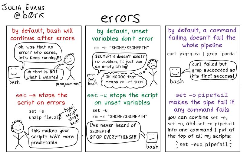 bash-error