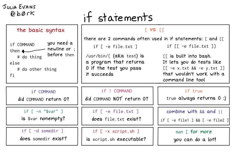 bash if statements