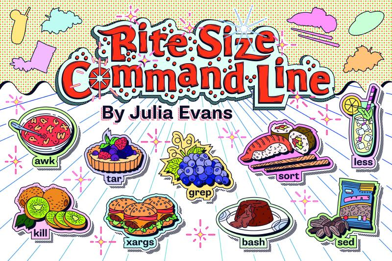 Cover for Bite Size Command Line!