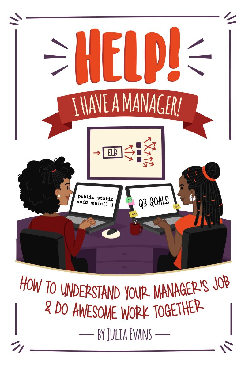 Cover for Help! I have a manager!