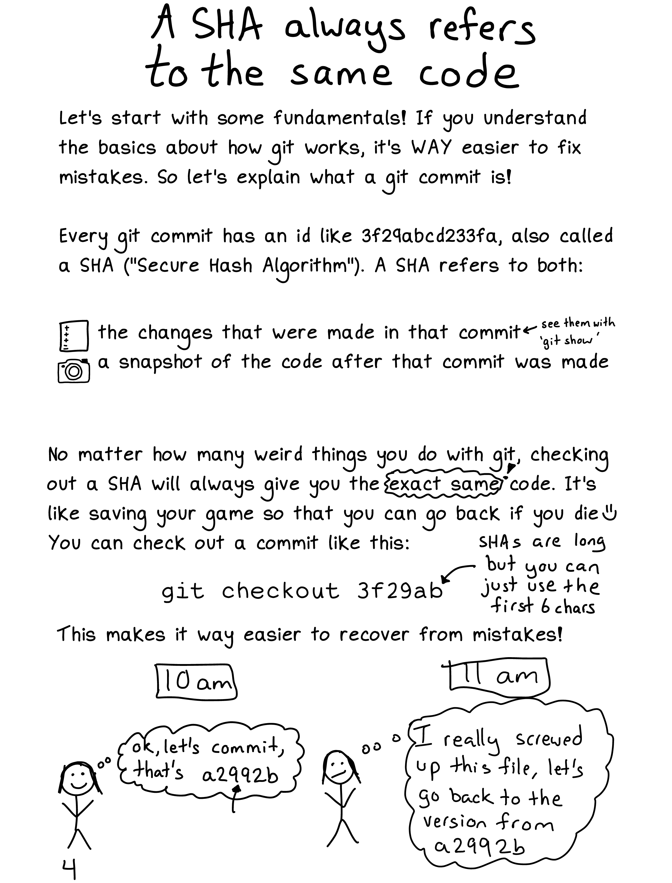 git exercises: navigate a repository - Julia Evans