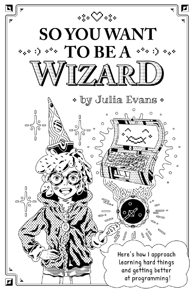 Cover for So you want to be a wizard
